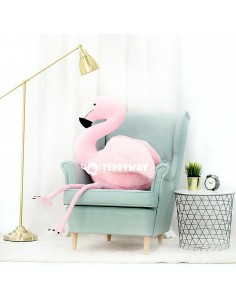 Pink Giant Plush Flamingo – 155 Cm – 61 Inch - FoFo Giant Stuffed Flamingos