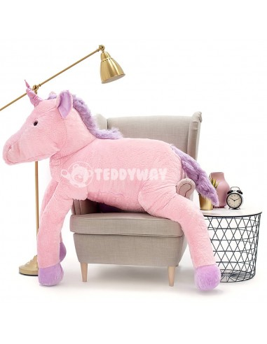 Pink Giant Plush Unicorn – 190 Cm – 74 Inch – SoSo Giant Stuffed Unicorns